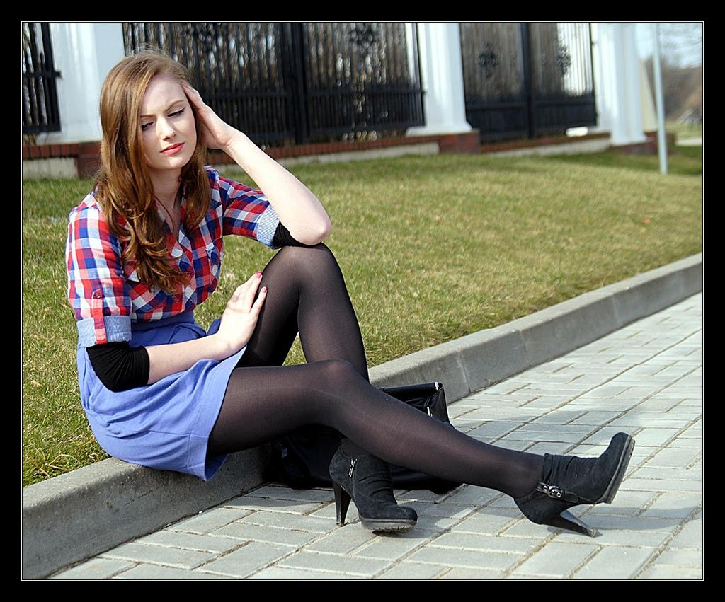 Lexi belle thigh highs