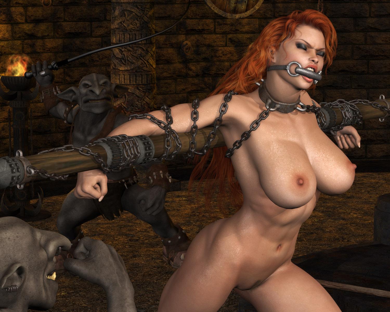 Redhead elf bondage hentia movie