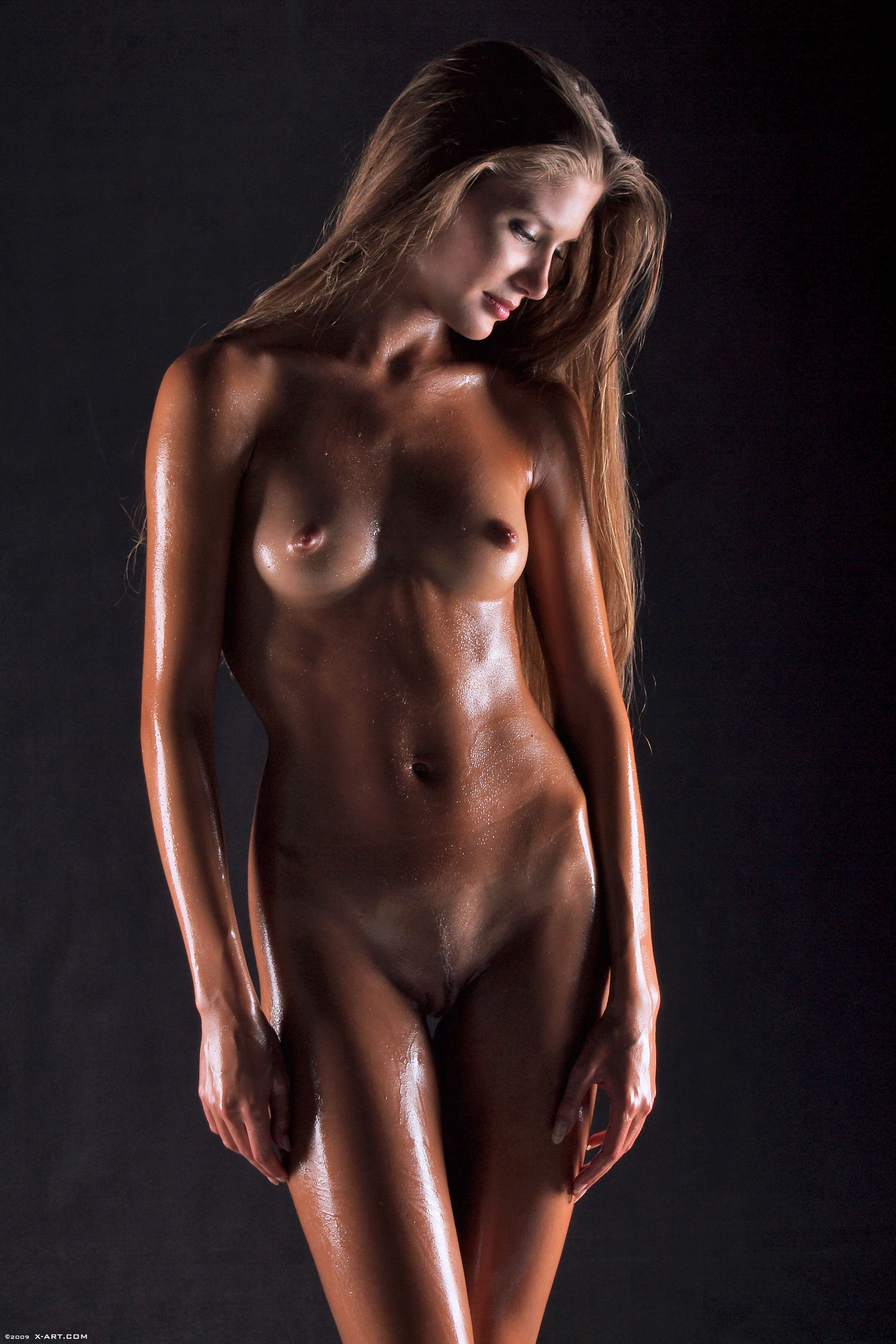 Oiled Black Girls Naked