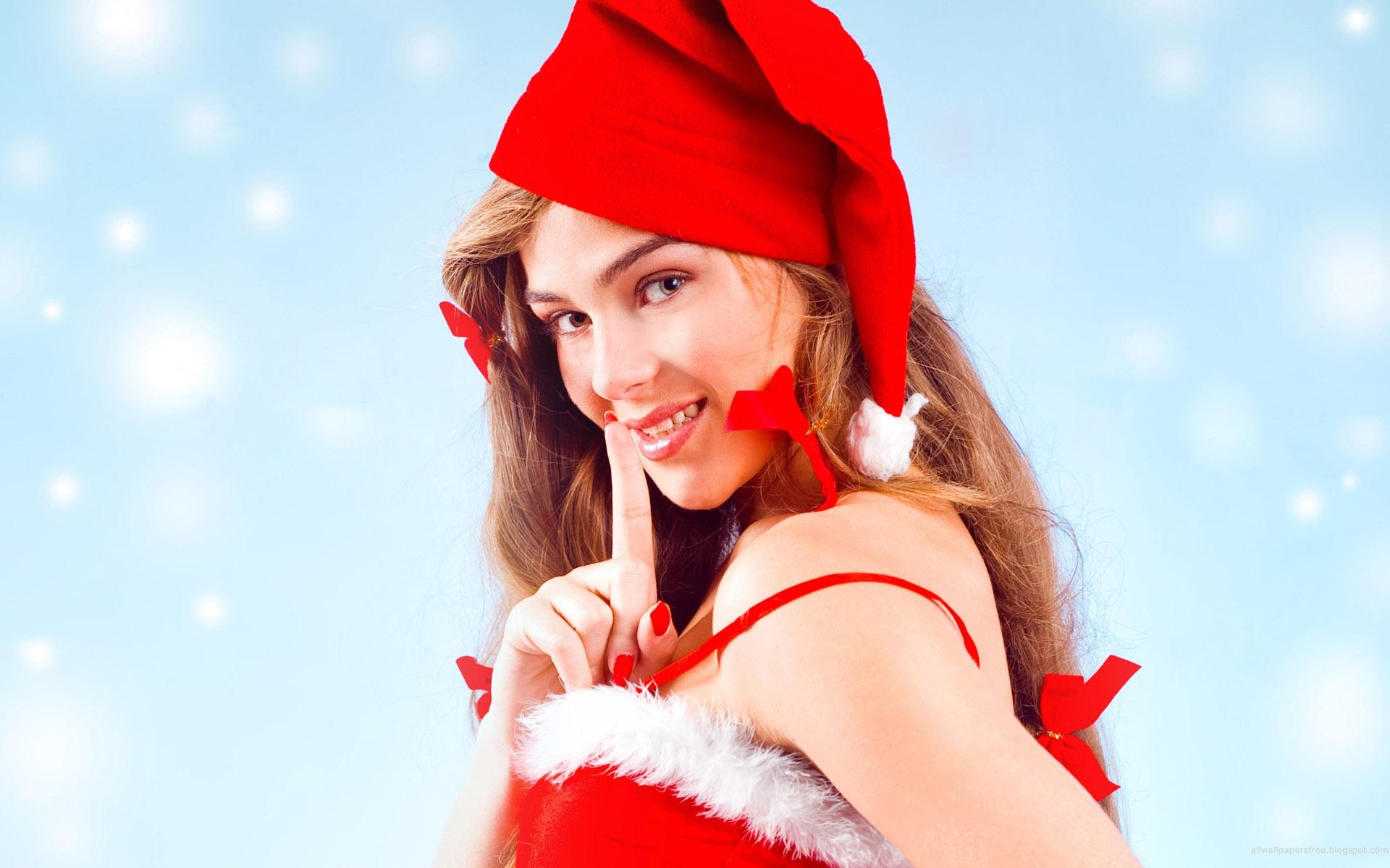 sexy christmas girls hd wallpaper 1 29