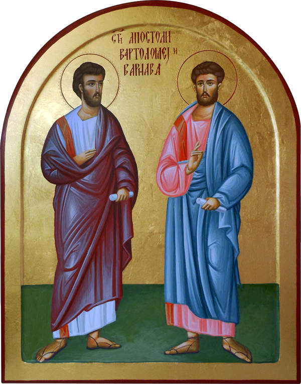 sv apostoli vartolomej i varnava