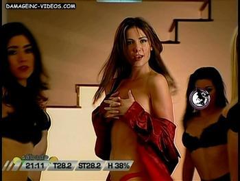 Argentina Model Paula Medici half naked