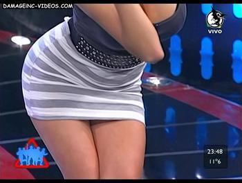 El escote de Mariana Diarco