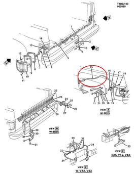 Pontiac 15242153 Harness additionally Showthread likewise Gm 16822780 Module further I html also 1999 Chevrolet S10 22l Wiring Diagram. on gm wiring harness best buy