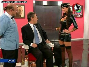 Sabrina Ravelli black stockings