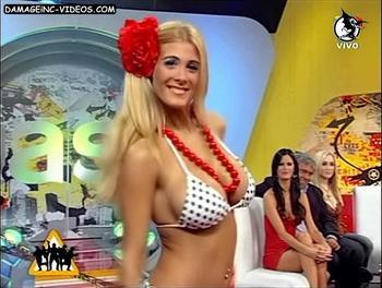 Florencia Maggi big tits in bikini