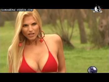 Argentina Busty Model in bikini
