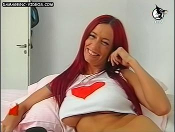 Analia Franchin big chested redhead