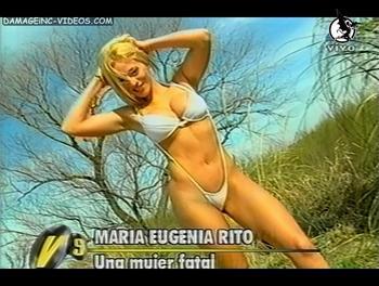 Maria Rito bikini trikini