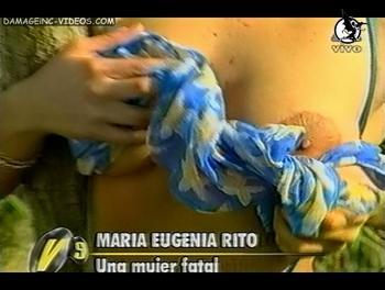 Maria Rito topless y pezones