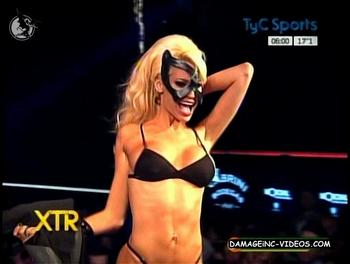 Vicky Xipolitakis black lingerie