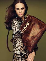 Эмилин Валаде, фото 42. Aymeline Valade Roberto Cavalli Fall 2011 Catalog, foto 42