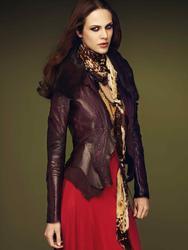 Эмилин Валаде, фото 47. Aymeline Valade Roberto Cavalli Fall 2011 Catalog, foto 47