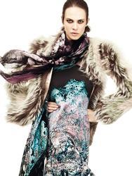 Эмилин Валаде, фото 57. Aymeline Valade Roberto Cavalli Fall 2011 Catalog, foto 57